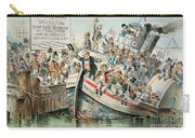 Mckinley Cartoon, 1896 Carry-all Pouch