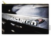 Mclaren 12c Spider Rear Emblem -0143ac Carry-all Pouch