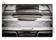 Mclaren Mp4 12c Rear View -0668ac Carry-all Pouch