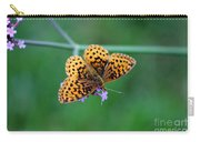 Meadow Fritillary Butterfly 2015 Carry-all Pouch