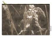 Meadow Grass In Sepia Carry-all Pouch