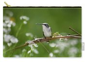 Meadow Hummingbird Carry-all Pouch