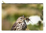 Meadow Pipit With Food Carry-all Pouch