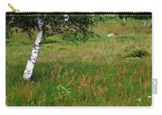 Meadow With Birch Trees Carry-all Pouch