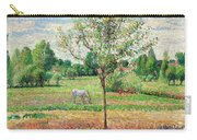 Meadow With Grey Horse, Eragny Carry-all Pouch