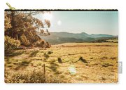 Meadows And Mountains Carry-all Pouch