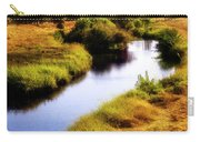 Meandering Channel Carry-all Pouch