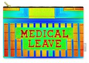 Medical Leave Art Carry-all Pouch
