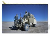 Medical Personnel Pose For A Group Carry-all Pouch