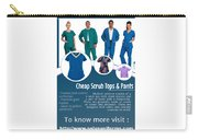 Medical Scrubs Carry-all Pouch