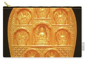 Medicine Buddha Tsatsa Carry-all Pouch