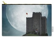 Medieval Castle At Night By Moonlight Carry-all Pouch