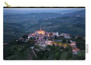 Medieval Hilltop Village Of Smartno Brda Slovenia At Dawn In The Carry-all Pouch