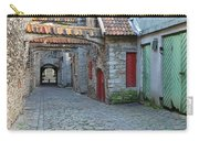 Medieval Lane In Tallinn Carry-all Pouch