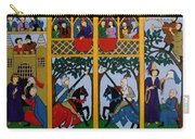 Medieval Scene Carry-all Pouch
