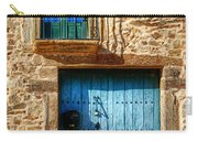 Medieval Spanish Gate And Balcony Carry-all Pouch