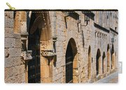 Medievil Town In Rhodes Carry-all Pouch by Sandra Bronstein