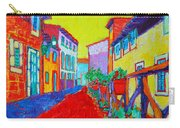 Mediterranean Cityscape Carry-all Pouch