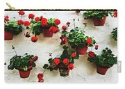Mediterranean Flower Carry-all Pouch