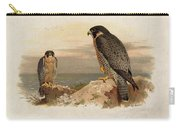Mediterranean Peregrine By Thorburn Carry-all Pouch