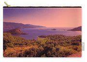 Mediterranean Sunset Glow Carry-all Pouch
