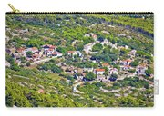 Mediterranean Village On Island Of Vis Carry-all Pouch