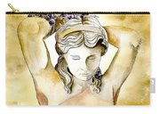 Meditrina Goddess Of Wine Carry-all Pouch