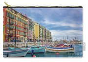 Meditteranean Life In Nice, France Carry-all Pouch