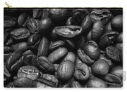 Medium Roast In Black And White Carry-all Pouch
