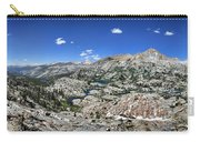 Medley Lake Basin Panorama From High Above - Sierra Carry-all Pouch