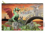 Medusa's Realm At Sunset Carry-all Pouch