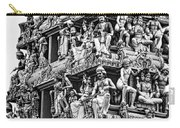 Meenakshi Amman Temple Bw Carry-all Pouch