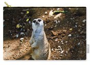 Meerkat     Say What Carry-all Pouch