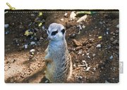 Meerkat Responding Carry-all Pouch