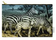 Meet The Zebras Carry-all Pouch