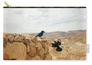 Meeting In Judean Desert Carry-all Pouch