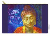 Meeting With Buddha Carry-all Pouch by Jane Small