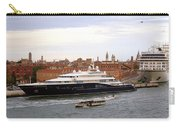 Mega Luxury Yacht The Carinthia Vll In Venice, Italy Carry-all Pouch