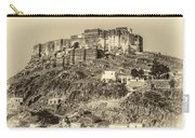 Mehrangarh Fort Sepia Carry-all Pouch