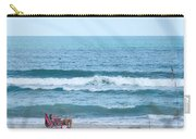 Melbourne Beach Florida On The Phone Carry-all Pouch