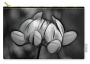 Mellow Yellow - Paint Bw Carry-all Pouch