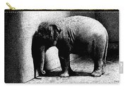 Melancholy Elephant Carry-all Pouch