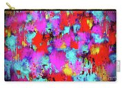 Melting Flowers Abstract  Carry-all Pouch