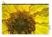 Melting Sunflower Carry-all Pouch