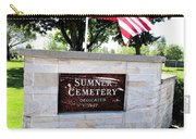Memorial Day 2017 - Sumner W A Cemetery Carry-all Pouch