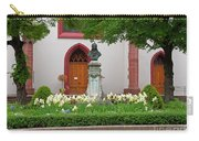 Memorial Of Jp Hebel At Peterskirche In Basel Switzerland Carry-all Pouch