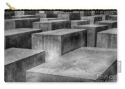 Memorial To The Murdered Jews Of Europe Carry-all Pouch