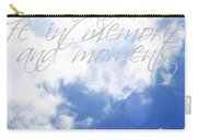 Memories And Moments Carry-all Pouch
