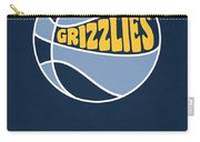 Memphis Grizzlies Vintage Basketball Art Carry-all Pouch