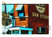 Memphis Sun Studio Birthplace Of Rock And Roll 20160215sketch Carry-all Pouch